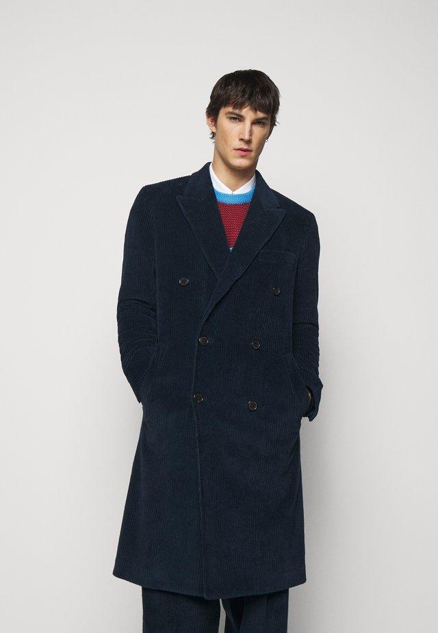 GENTS OVERCOAT - Classic coat - dark blue