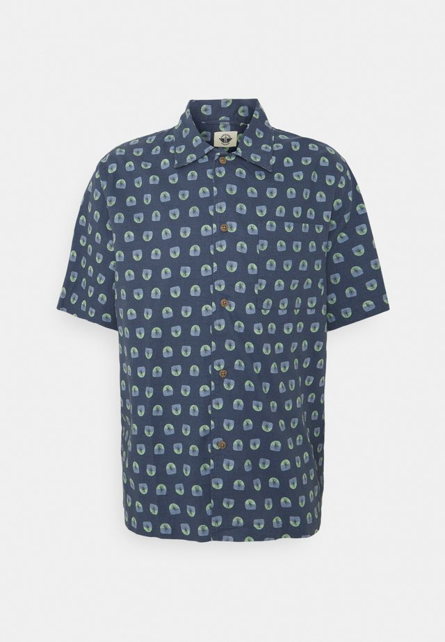 BOXY SHIRT - Camisa - mullen crown blue