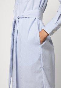 Lauren Ralph Lauren - BROADCLOTH DRESS - Shirt dress - blue/white multi - 4