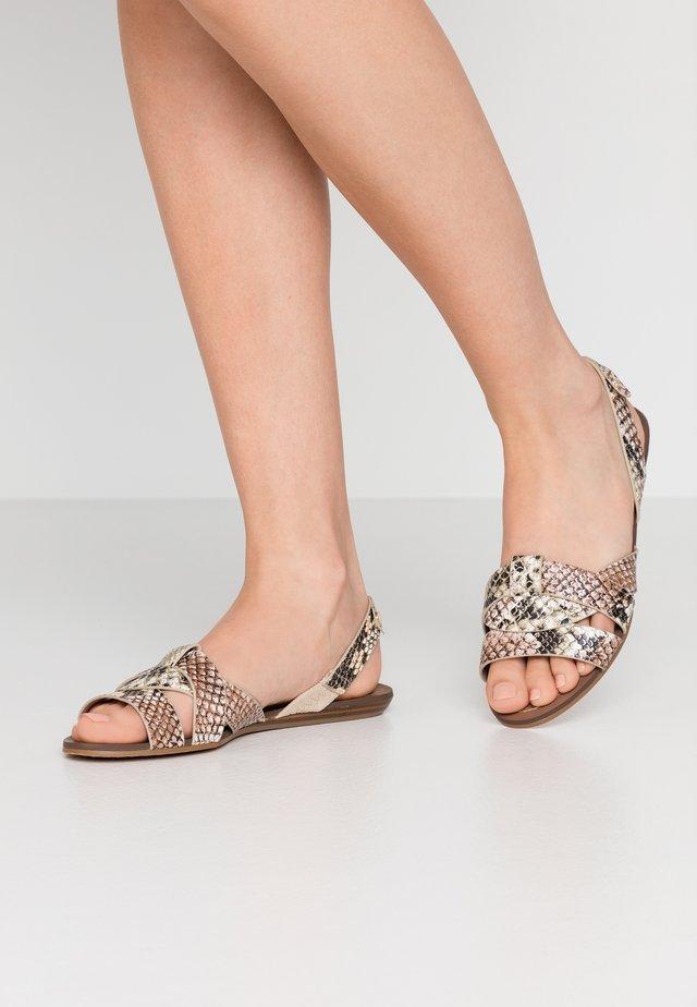 DELADRIEWIEL - Sandals - natural