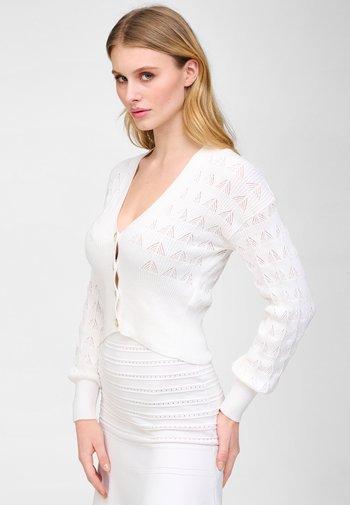KURZER  - Cardigan - white