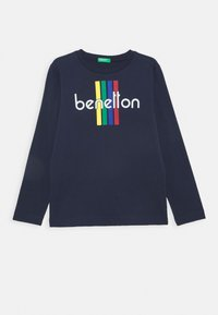 Benetton - BASIC BOY - Longsleeve - dark blue - 0