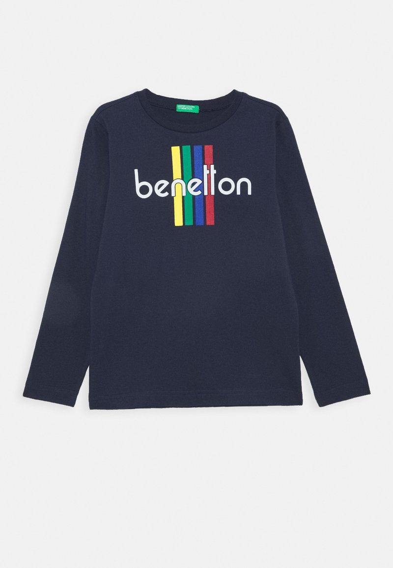 Benetton - BASIC BOY - Longsleeve - dark blue