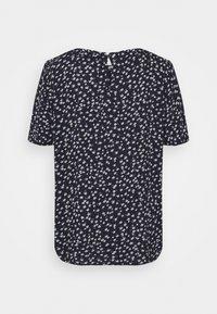 edc by Esprit - BLOUSE - Camiseta estampada - navy - 1