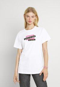 Diesel - DARIA - Print T-shirt - white - 0