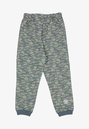 ALEX - Tracksuit bottoms - stormy weather fish