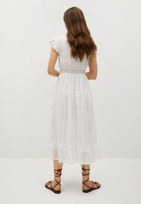 Mango - Day dress - złamana biel - 1
