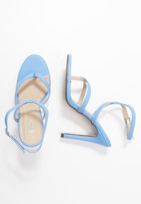 4th & Reckless - PENNY - High heeled sandals - blue - 3