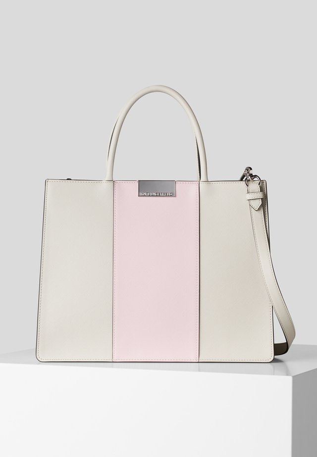 Shopping bag - a746 lght taupe