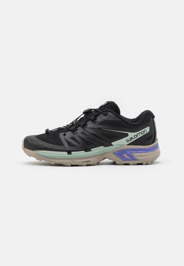 XT WINGS 2 UNISEX - Sneakersy niskie - black/vintage kaki/gray