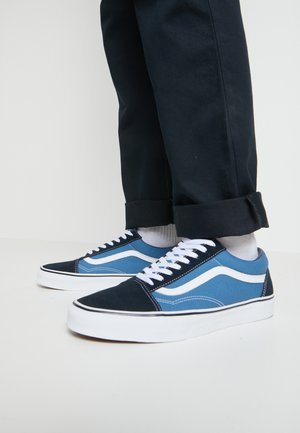 OLD SKOOL - Matalavartiset tennarit - navy