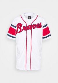 Fanatics - MLB ATLANTA BRAVES FRANCHISE SUPPORTERS - Club wear - white - 0