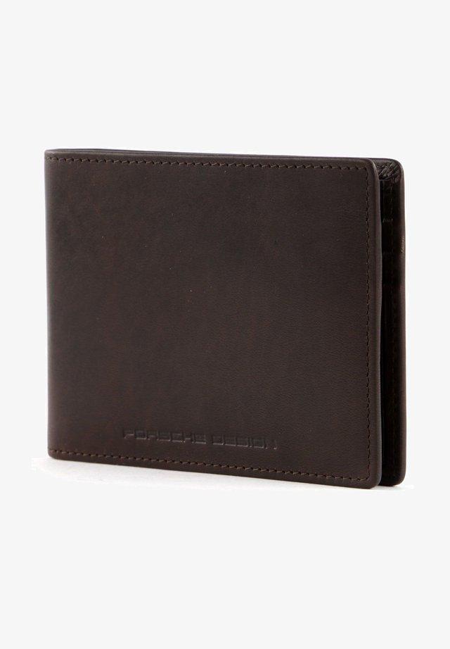 URBAN COURIER - Wallet - darkbrown