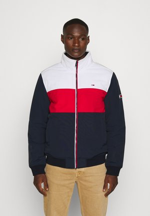 COLORBLOCK PADDED JACKET - Allvädersjacka - twilight navy/multi