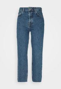 Selected Femme Petite - SLFKATE STRAIGHT CRUZ - Relaxed fit -farkut - medium blue denim - 4