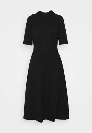 DASERA - Žerzejové šaty - black