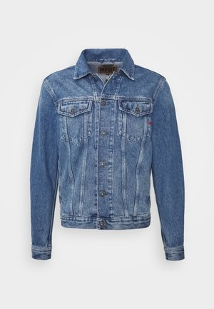D-SAL JACKET - Denim jacket - indigo