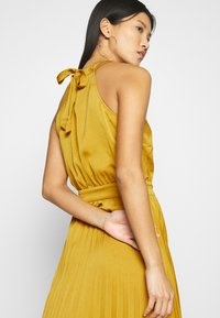 King Louie - DANNA PLISSE DRESS GINTY - Cocktail dress / Party dress - curry yellow - 3
