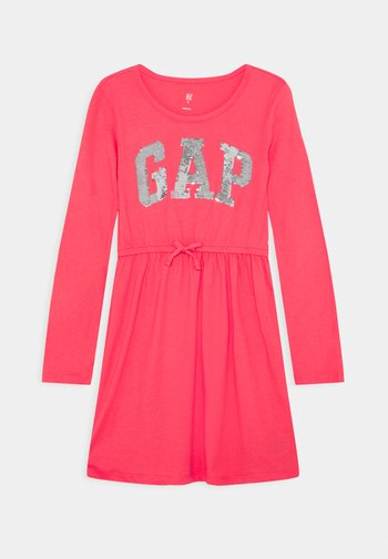 GIRLS FLIP LOGO DRESS