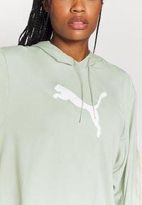 Puma - TRAIN PEARL HOODIE - Jersey con capucha - aqua gray - 5