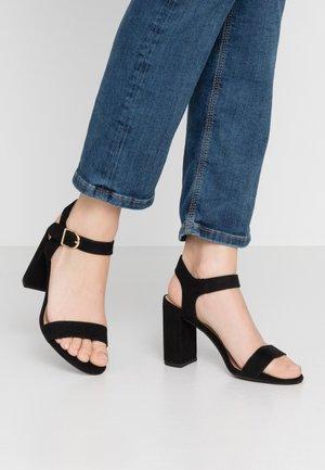 VIMS - Korolliset sandaalit - black