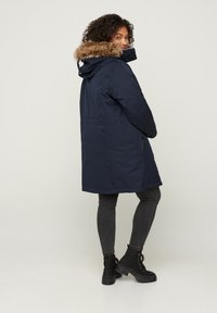 Zizzi - Winter coat - dark blue - 2