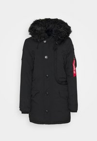 Alpha Industries - POLAR JACKET - Winter coat - black - 1