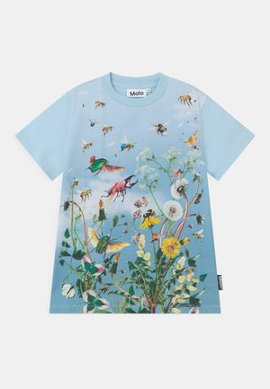 ROAD UNISEX - Print T-shirt - blue