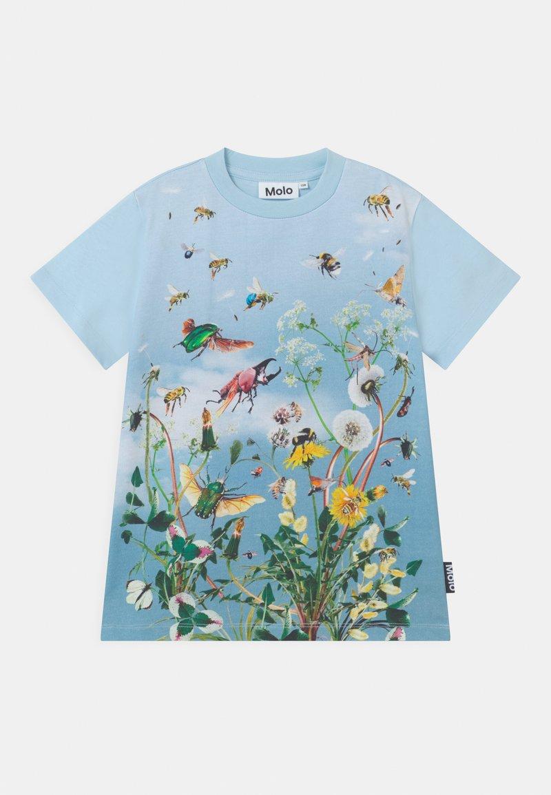 Molo - ROAD UNISEX - Print T-shirt - blue