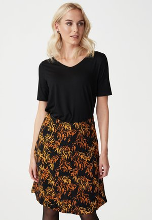 HAILEY - A-line skirt - black