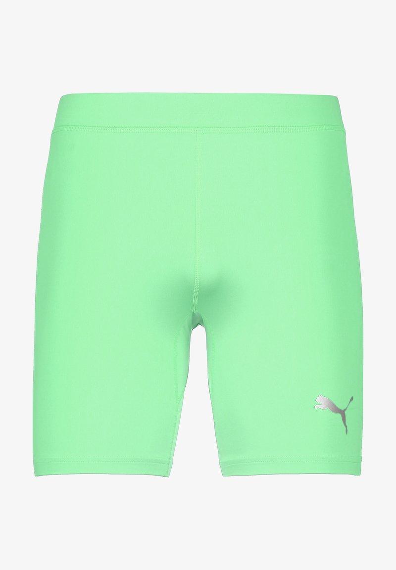 Puma - LIGA BASELAYER TRAININGSTIGHT HERREN - Shorts - green glimmer