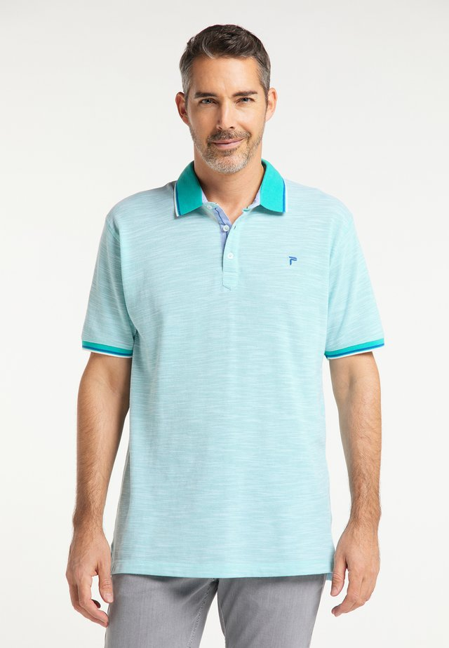 Polo shirt - aqua marine