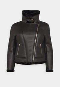 Missguided Plus - AVIATOR - Winter jacket - black - 1