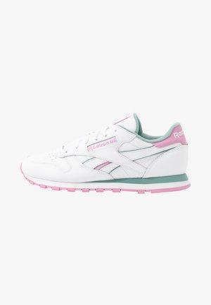 Tenisky - white/green slate/jasmine pink