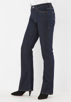 Bootcut jeans - dark rinsed