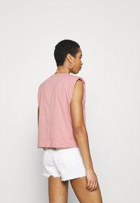 Lindex - Basic T-shirt - light pink - 2