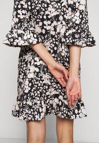 Rebecca Minkoff - FEDERICA DRESS - Denní šaty - black/cream - 9