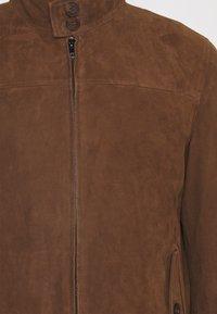 Serge Pariente - HANK - Leather jacket - tobacco - 2