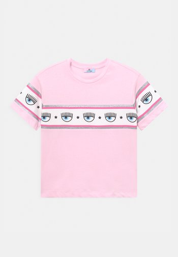 OVER BANDA - Print T-shirt - rosa fairy tail