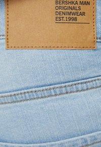 Bershka - Slim fit jeans - light blue - 5