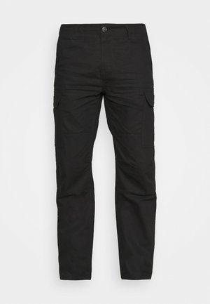 MILLERVILLE - Cargo trousers - black