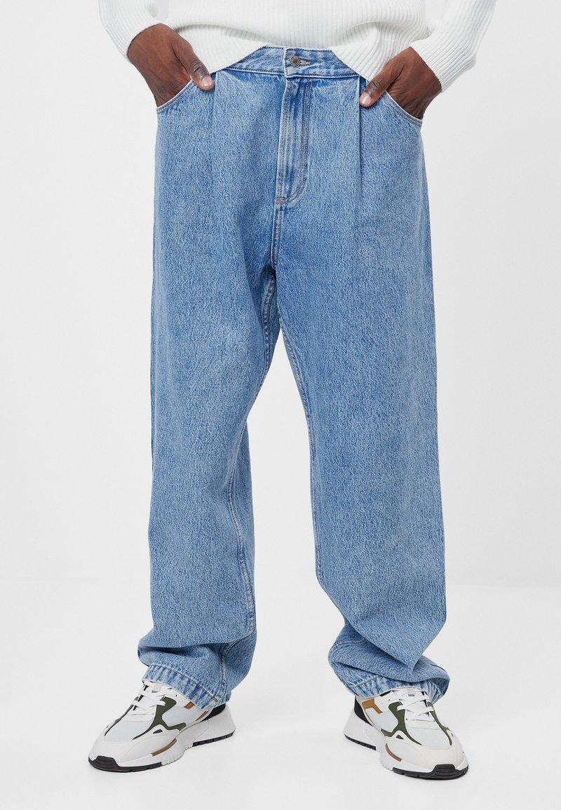 Bershka - Jeans baggy - blue