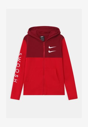 Zip-up hoodie - university red/team red
