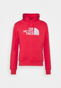 The North Face - DREW PEAK HOODIE - Felpa con cappuccio - rococco red - 4