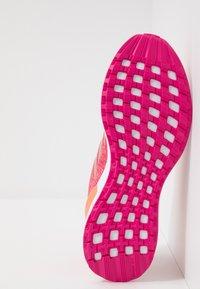 adidas Performance - RAPIDARUN X - Neutral running shoes - semi coral/copper metallic/real magenta - 5