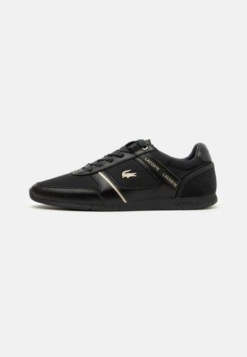 MENERVA - Trainers - black/dark grey