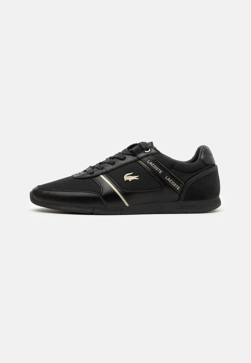 Lacoste - MENERVA - Sneakers basse - black/dark grey