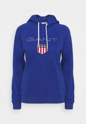 SHIELD HOODIE - Sweatshirt - college blue