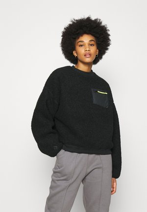 SHERPA CREW - Fleece jumper - black