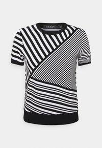 Lauren Ralph Lauren - Print T-shirt - black/white - 5